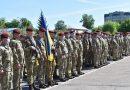 Житомирський 199-й навчальний центр ДШВ відзначив шосту річницю: показові виступи та клятва десантників-строковиків