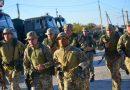 Десантники з Донеччини регулярно здійснюють марш-кидок зі зброєю по пересічній місцевості